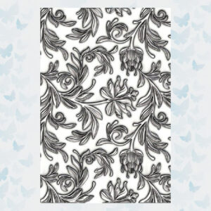 Sizzix 3-D Texture Fades Mini Embossing Folder - Botanical 665631 Tim Holtz