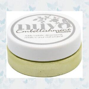 Nuvo Embellishment Mousse - Mint Tea 840N