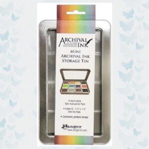 Ranger Archival Mini Ink Storage Tin AIMA58434
