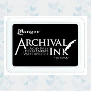 Ranger Archival Ink pad - Jet Black AIP31468