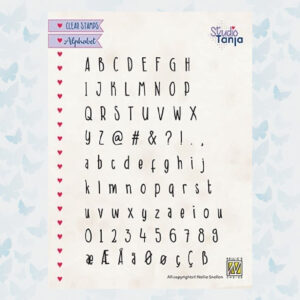 Nellie's Choice Clearstempel - Alfabet Javi ALCS005
