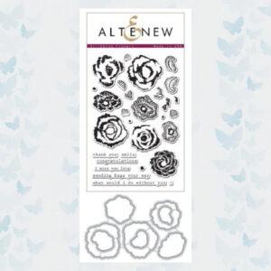 Altenew Bundel Scribbled Flowers Stempels & Mallen Set ALT1005BN