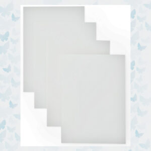 Altenew Classic Crest Solar White Notecards ALT2205