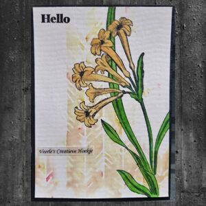 Altenew Wild Flora Stempel Set ALT3781
