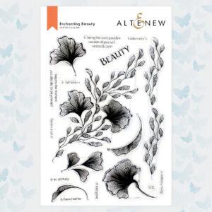 Altenew Enchanting Beauty Clear Stamp Set ALT6097