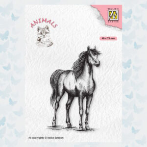 Nellies Choice Clearstempel - Paard ANI019