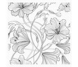 My Favorite Things Harmonious Hibiscus Background Stamp (BG-127)