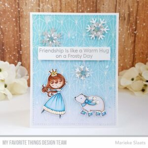 My Favorite Things Baccarat Rubber Background Stamp (BG-136)