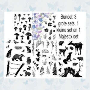 Card-io Stamps Forest Friends Collectie Mei 2020
