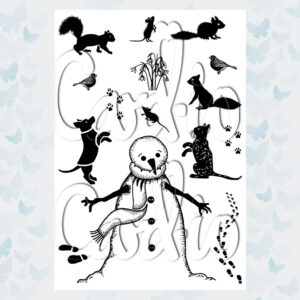 Card-io Clear Stamps Favoured Friends CCSTFAV-01