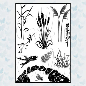 Card-io Clear Stamps Still Waters CCSTSTI-01