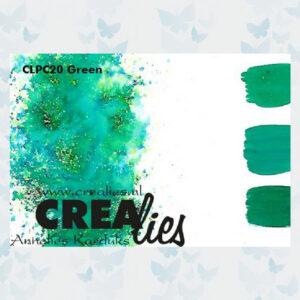 Crealies Pigment Colorzz Poeder Groen CLPC20
