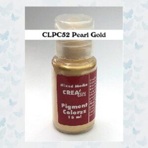 Crealies Pigment Colorzz Poeder Parelmoer Goud CLPC52