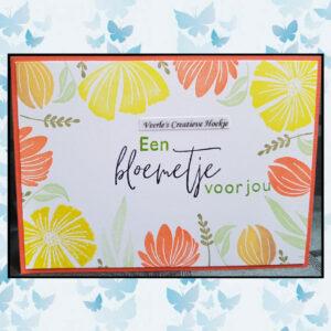 Marianne Design Clear Stamps Handgeschreven - Veel Liefs CS1050
