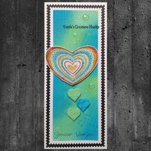 Nellies Choice Clear Stempel Mandala - Paisley Hart CSMAN012