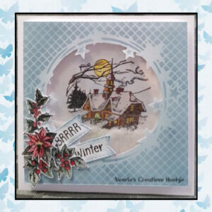 Nellies Choice Clearstempel - Chris. Time Kerstroos CT036