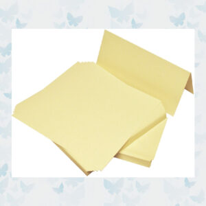 Craft UK Cards & Envelopes DL Ivory (CUK264)