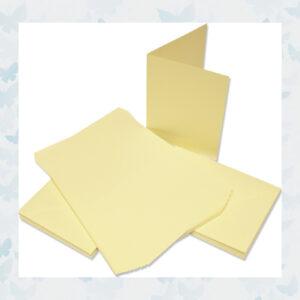 Craft UK Cards & Envelopes 5x7 Inch Ivory (CUK291)