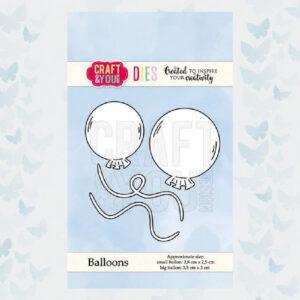 Craft&You Snijmallen Ballonnen CW067