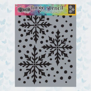 Ranger Dylusions Large Stencil Ice Queen DYS78029 Dyan Reaveley