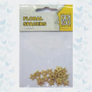 Nellie's Choice Floral Spacers Goud FLP-SP-009