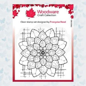 Woodware Clear Stamp Blossom FRS080
