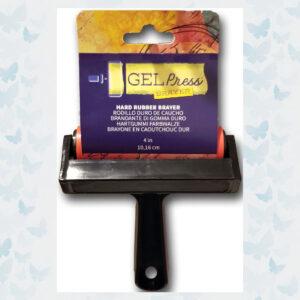 Gel Press Hard Rubber Brayer GEL10820