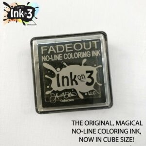 InkOn3 Fadeout No Line coloring Detail Mini Ink Cube