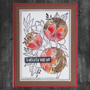 Woodware Clear Stamp Floral Wonder JGS758