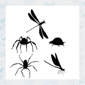 Lavinia Clear Stamp Bugs LAV156