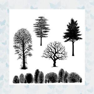 Lavinia Clear Stamp Tree Scene LAV219