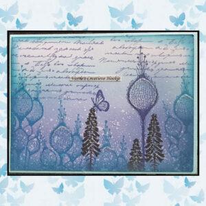 Lavinia Clear Stamp Single Fairy Thistle LAV381