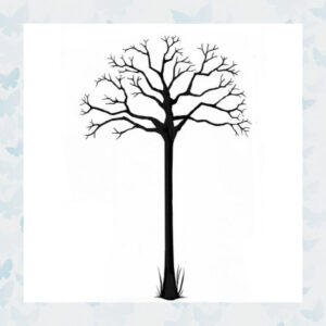 Lavinia Clear Stamp Autumn Tree LAV420
