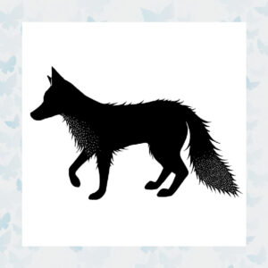 Lavinia Clear Stamp Fox 2 Peri LAV429