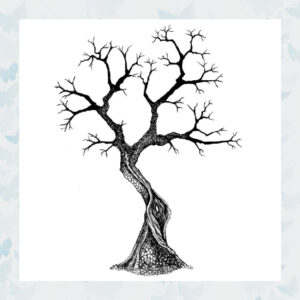 Lavinia Clear Stamp Sacred Tree LAV437