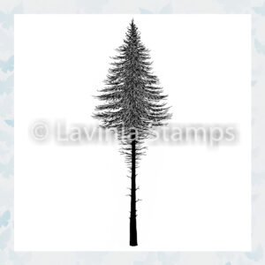 Lavinia Clear Stamp Fir Tree Nr2 LAV477