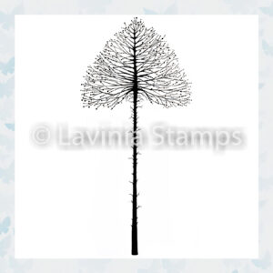 Lavinia Clear Stamp Celestial Tree Small LAV488s