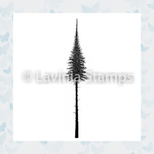 Lavinia Clear Stamp Fairy Fir Tree Small LAV489s