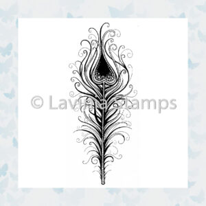 Lavinia Clear Stamp Indian Flourish LAV495