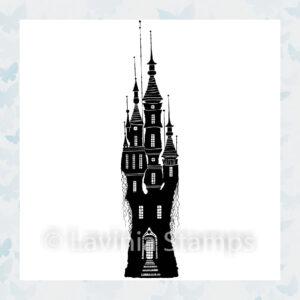 Lavinia Clear Stamp Far World Castle LAV534