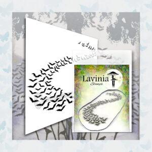 Lavinia Clear Stamp Bat Colony LAV558