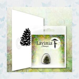 Lavinia Clear Stamp Mini Pine Cone LAV624