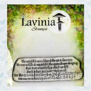 Lavinia Clear Stamp Snow Falls LAV648