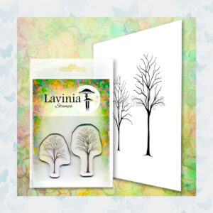 Lavinia Clear Stamp Small Trees LAV663