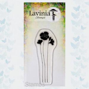 Lavinia Clear Stamp - Garden Poppy LAV689