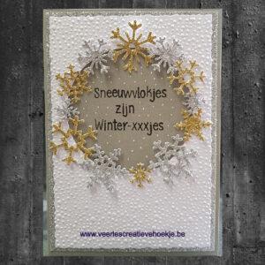 Nellies Choice Layered Die - sneeuwvlokken 01 LDSF001