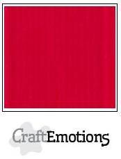CraftEmotions linnenkarton 10 vel Vuurrood LHC-66 /A4/ 250gr
