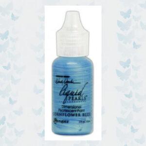 Ranger Make Art Liquid Pearls 18ml - Cornflower Blue LPD72027 Wendy Vecchi