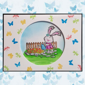 Nellie's Choice Mini clear stamps insecten MAFS004