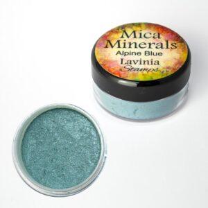 Lavinia Stamps Mica Minerals - Alpine Blue
